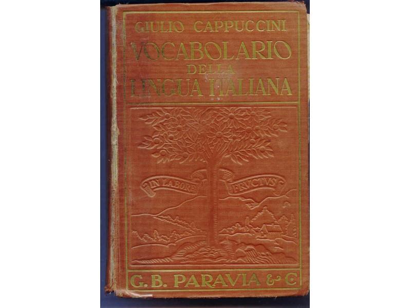 ITALIJANSKO - ITALIJANSKI RECNIK - 1937 GOD.