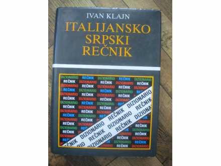 ITALIJANSKO-SRPSKI REČNIK - IVAN KLAJN