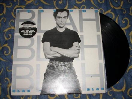 Iggy Pop-Blah-Blah-Blah LP
