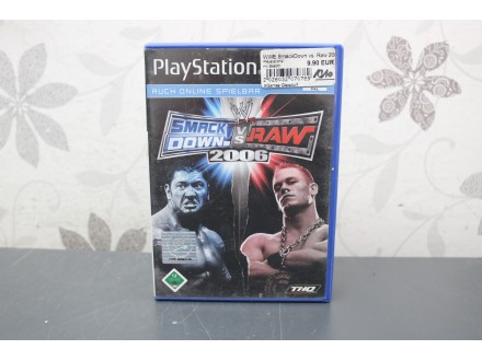 Igra za PS2  - Smackdown vs RAW 2006