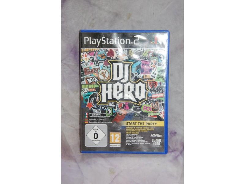Igrica  za Play Station 2 - DJ HERO