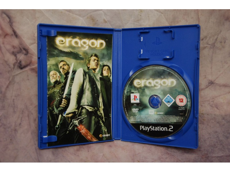 Igrica za Play Station 2 - ERAGON