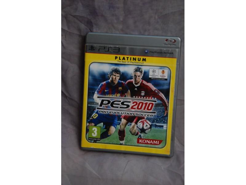 Igrica za Play Station 3 - PES 2010 PRO EVOLUTION SOCCE