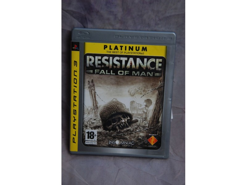 Igrica za Play Station 3 - RASISTANCE- FALL OF MAN-
