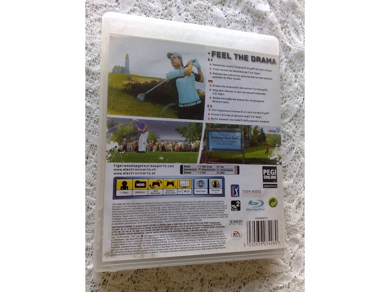 Igrica za Sony Playstation 3 PS3 Tiger Woods PGA Tour 1