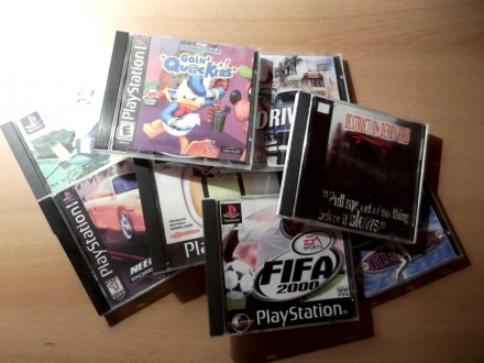Igrice za Sony Playstation 1 i 2 (spisak)