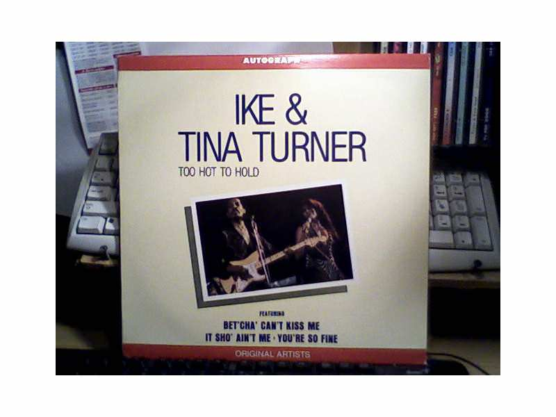 Ike & Tina Turner - Autograph - Too Hot To Hold