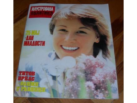 Ilustrovana Politika br. 1281, 1983. - Dan mladosti