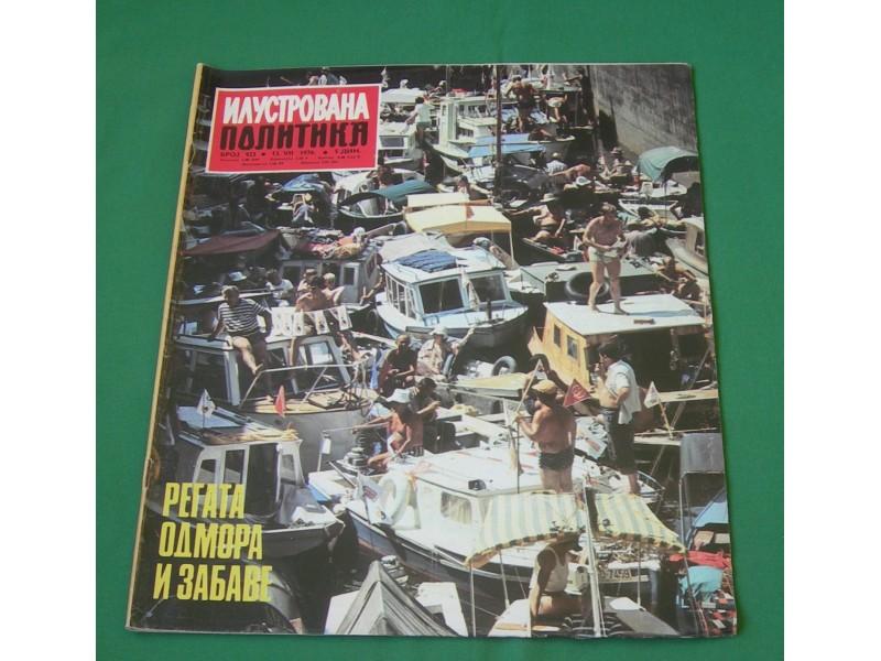 Ilustrovana Politika br. 923, 1976.