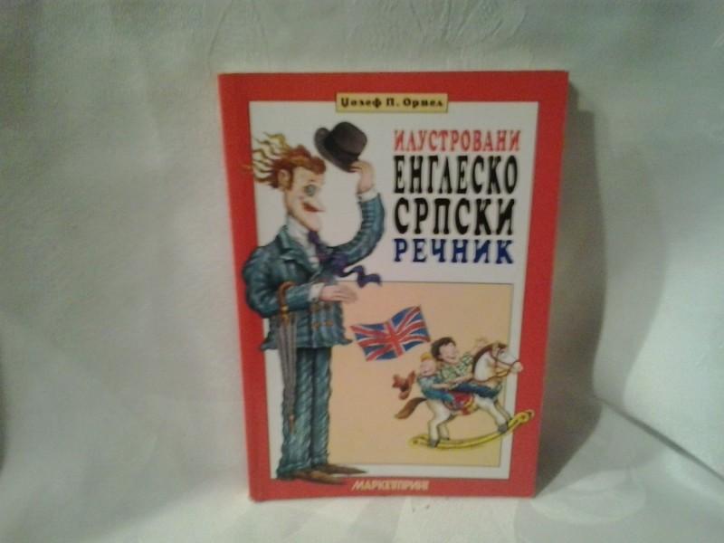 Ilustrovani englesko srpski rečnik Džozef Orvel
