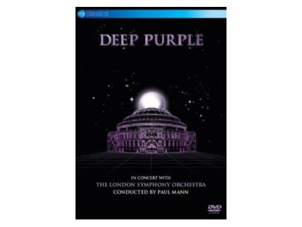 In Concert With The London Symphony Orchestra, Deep Purple, The London Symphony Orchestra, Paul Mann, DVD