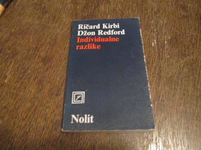 Individualne razlike - Ricard Kirbi i Dzon Redford