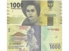 Indonesia Indonezija 1000 rupija 2016. UNC
