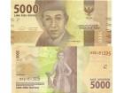 Indonesia Indonezija 5000 rupija 2016. UNC