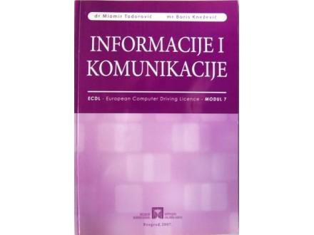 Informacije i komunikacije - M.Todorović i B.Knežević