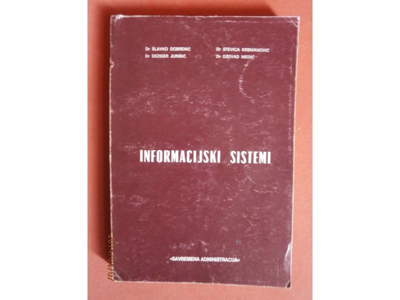Informacijski sistemi, grupa autora