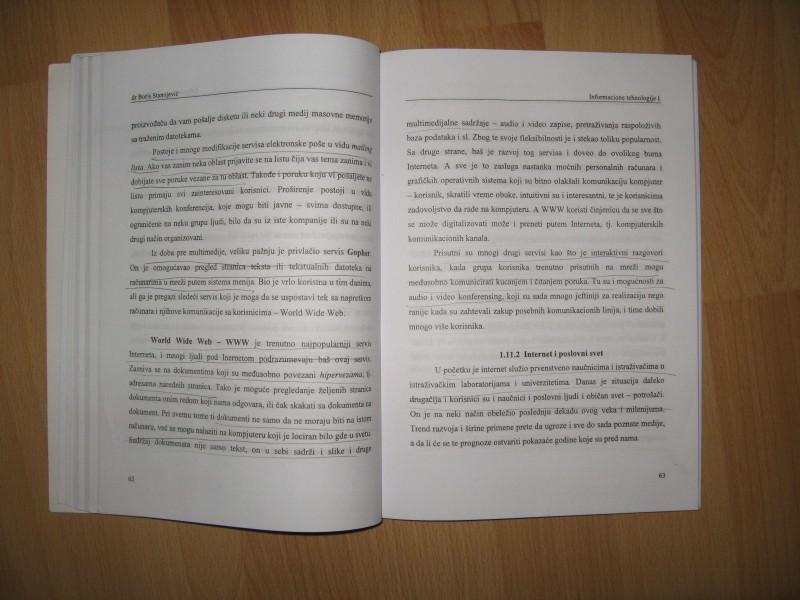 Informacione tehnologije 1