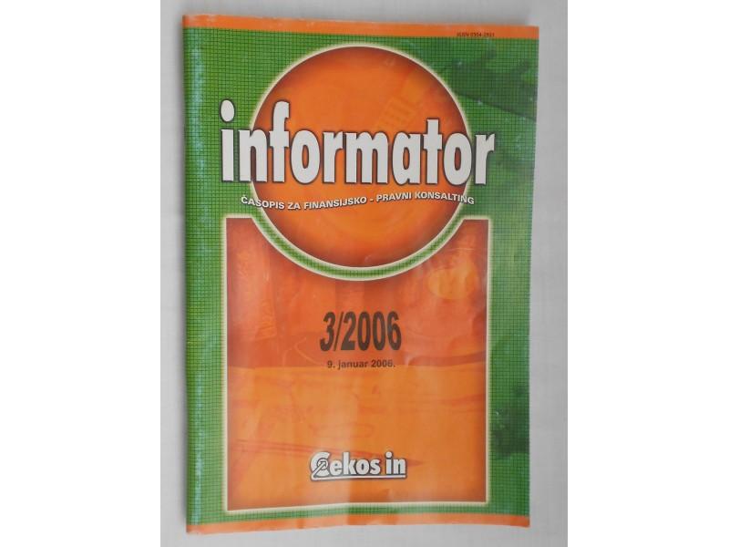 Informator časopis za finansijsko-pravni konsalting
