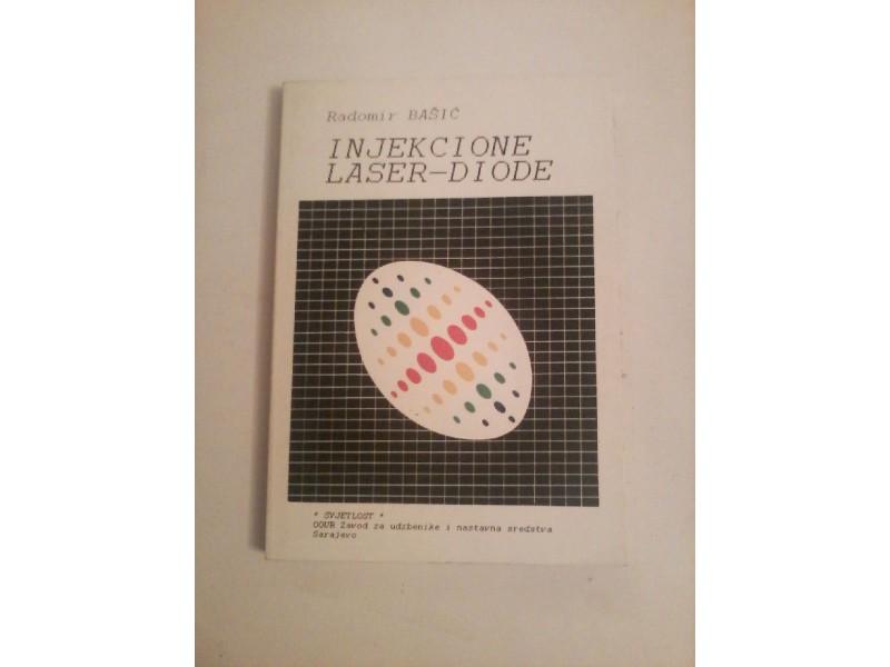 Injekcione laser-diode, Radomir Bašić