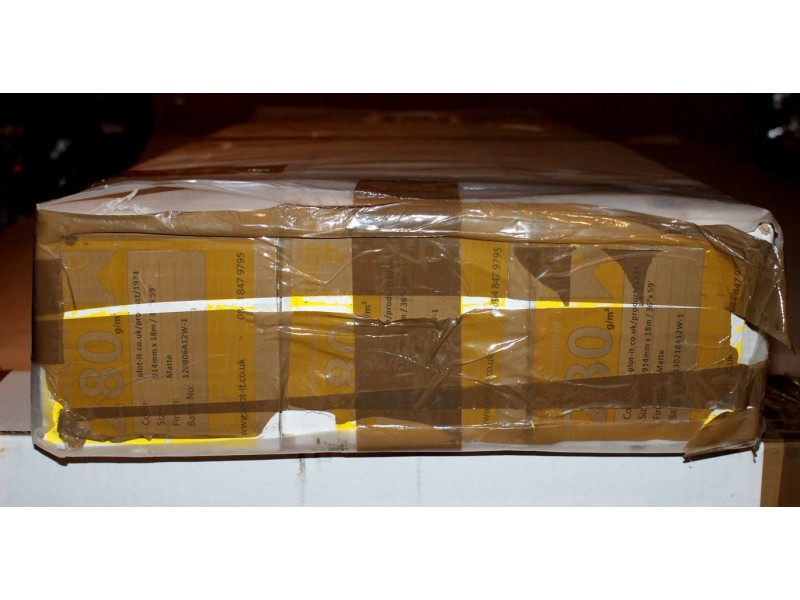 Inkjet Canvas Roll - Matte 280 g/m2 Premium Polyester