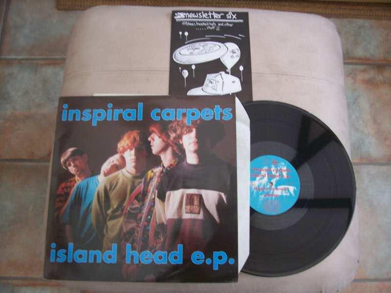Inspiral Carpets - Island Head EP