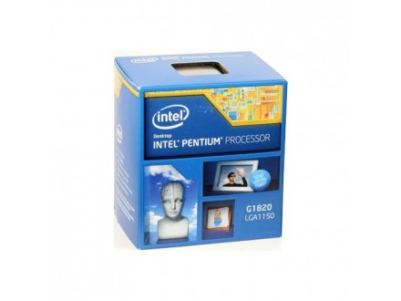 Intel 1150 Celeron Dual Core G1820 2.70Ghz/2MB/64bit/BOX