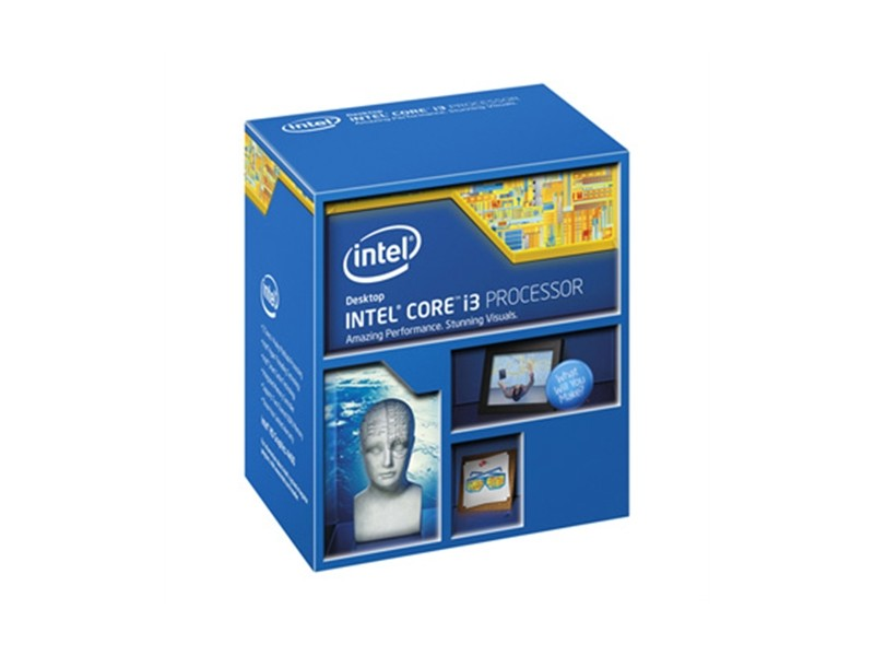 Intel 1150 Core i3-4150 3.50Ghz/3MB/2-Core/4-Threads/64bit/BOX