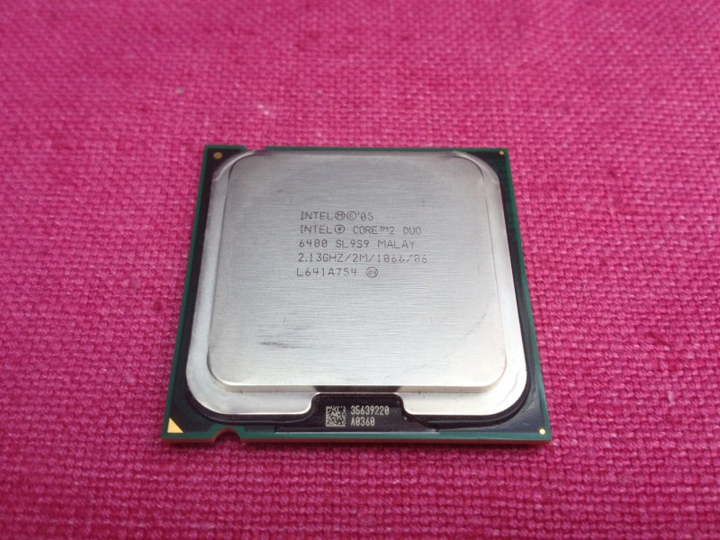 Intel Core 2 Duo E6400 2.13 GHz LGA775 + GARANCIJA!