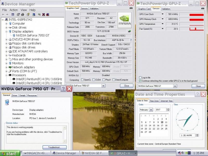 Intel775 Agp gejmer racunar sem hdIntel 3.0HT x2!7950GT