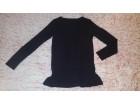 Intenzivno crna bluza dugih rukava Calvin Klein