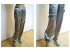 Interesantne satenske pantalone, vel. S/M
