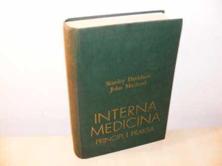 Interna medicina ,Stanley Davidson (besplatna dostava)