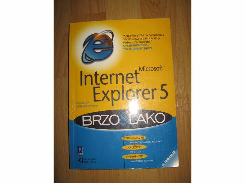 Internet explorer 5