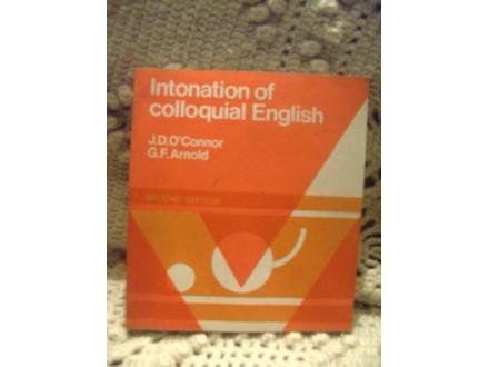 Intonation of colloquial Eglish
