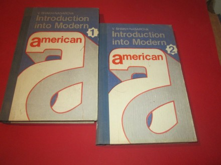 Introduction into Modern American 1 i 2