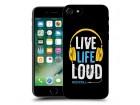 Iphone 7 - SILIKONSKA MASKA ULTRA TANKA KOLOR print KL0029 ®