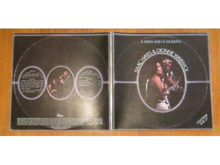 Isaac Hayes, Dionne Warwick - A Man And A Woman 2LP