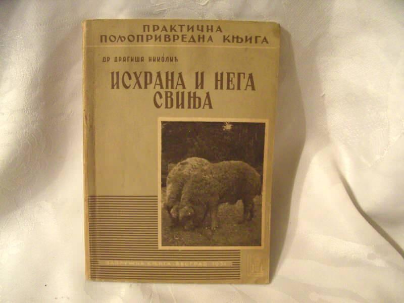 Ishrana i nega svinja, Dragiša Nikolić