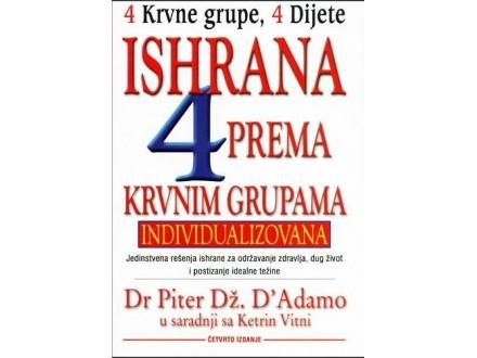Ishrana prema krvnim grupama, P. Dž. D`Adamo, nova