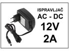 Ispravljac 12V - 2A - 5.5mm dzek