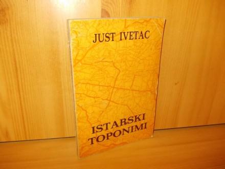 Istarski toponimi - just ivetac