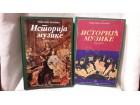 Istorija muzike knjiga prva i druga Roksanda Pejović