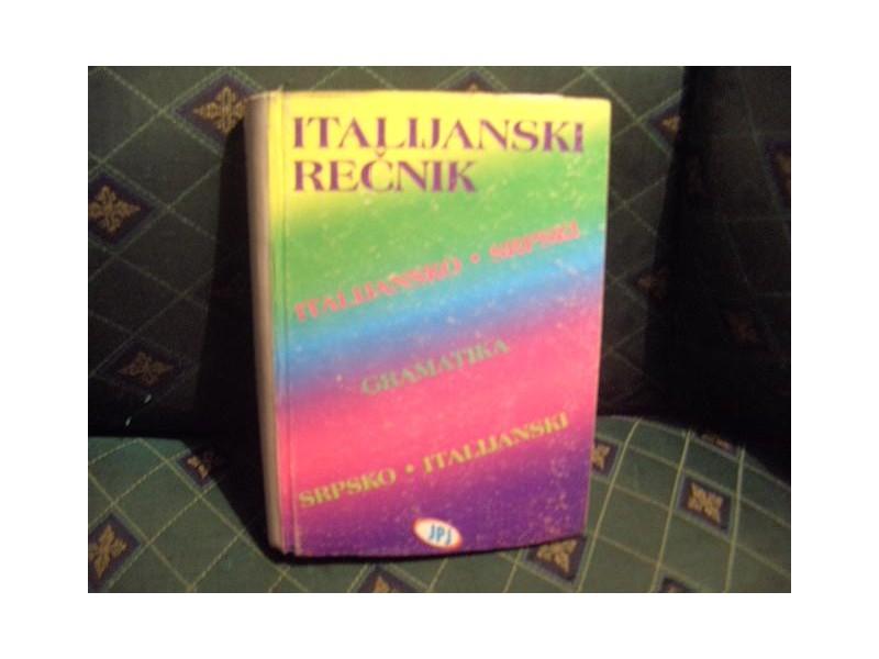 Italij-srpski, srpsko-italijanski rečnik sa gramatikom
