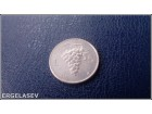 Italija 5 lira 1950