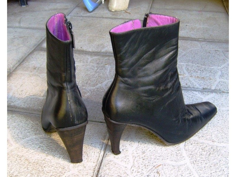 Italijanske kožne čizme Vero Cuoio