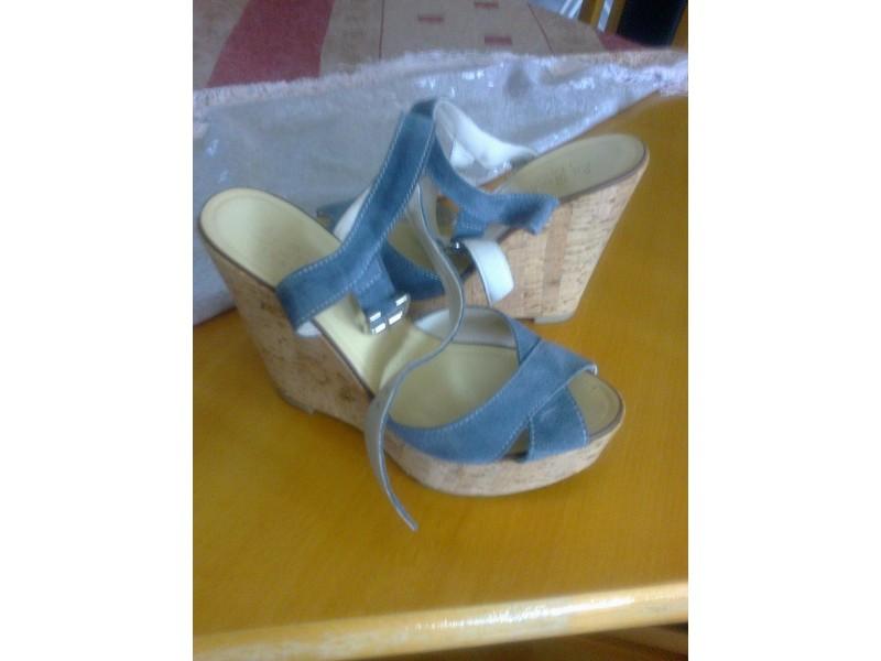 Italijanske sandale koža-pluta