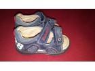 Italijanske sandale sa anatomskim uloškom - očuvane
