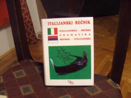 Italijanski rečnik, italijansko srpski, srpsko italijan