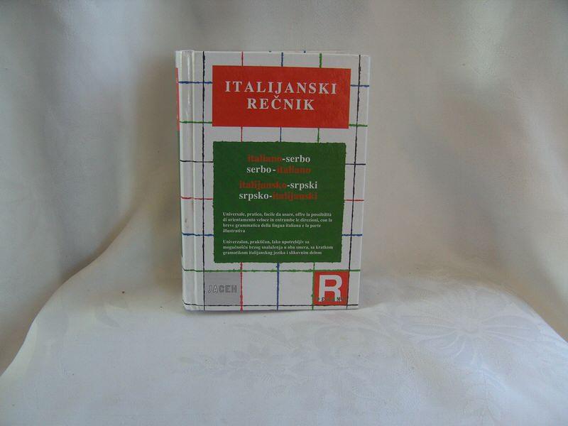 Italijanski rečnik, jasen