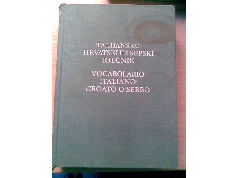 Italijansko Srpski recnik
